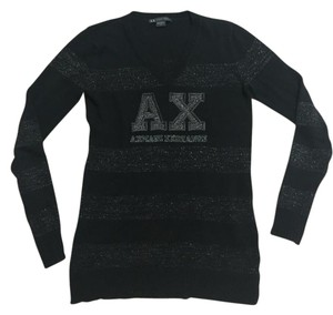 A|X Armani Exchange Metallic Ax Sweater