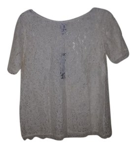 Ivory lace top Top