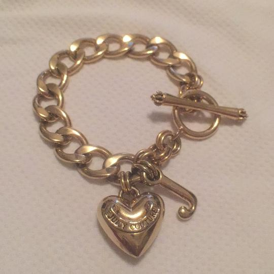 Juicy Couture 1st Gold T Heart W/J, 2nt Silver T Hearts W/Charms Juicy Couture Image 2