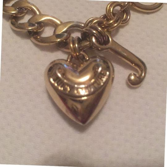 Juicy Couture 1st Gold T Heart W/J, 2nt Silver T Hearts W/Charms Juicy Couture Image 3
