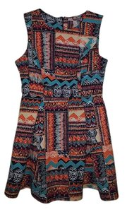 Forever 21 short dress Multicolor on Tradesy