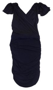 Jay Godfrey short dress Black Navy Clinched on Tradesy
