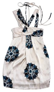 Marc by Marc Jacobs short dress Cream Floral Print on Tradesy