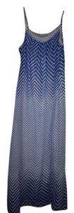 Blue/white Maxi Dress by Robbie Bee