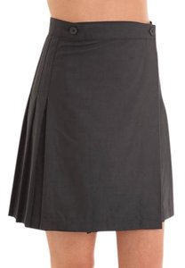 American Apparel Mini Skirt Dark Charcoal