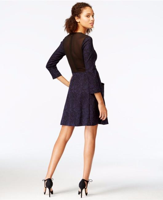 Rachel Roy Skater Fit Flare Edgy Sexy Dress Image 1