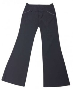 Alice + Olivia Dry Clean Only Wv With Ly Flare Pants Black