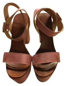 BALTARINI Light Pink Platforms