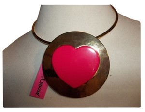 Betsey Johnson Betsey Johnson Heart Statement Necklace