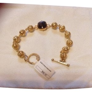 Gold Plated Crystal Swarovski Crystal Bracelet