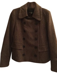 Zara Brown Tweed Blazer
