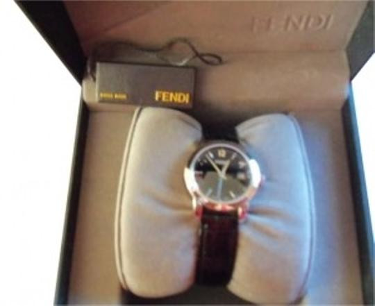 Preload https://item2.tradesy.com/images/fendi-black-and-silver-watch-167786-0-0.jpg?width=440&height=440