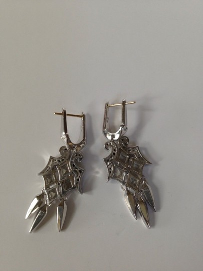 Stephen Webster STEPHEN WEBSTER AUTHENTIC NWT BLACK SAPHIRE DAGGER EARRINGS