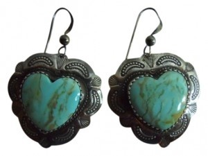 Unknown Sterling & turquoise earrings