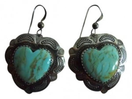 Preload https://item3.tradesy.com/images/sterling-silver-turquoise-earrings-167787-0-0.jpg?width=440&height=440