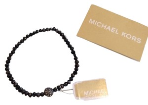 Michael by Michael Kors MICHAEL MICHAEL KORS AUTHENTIC NWT BLACK PAVE FIREBALL HEMATITE BRACELET