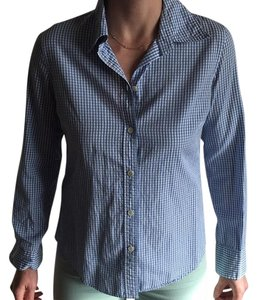 Martin + Osa Button Down Shirt Blue