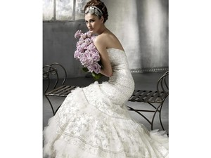 Lazaro Lz3866 Wedding Dress