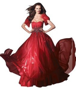 Alyce Designs Plus-size Gown Prom Crystal Dress