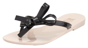 Melissa Jelly Owaterproof Black Sandals