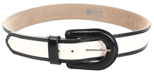 Other LANDES Contrast Trim Patent Leather 5-Hole Belt