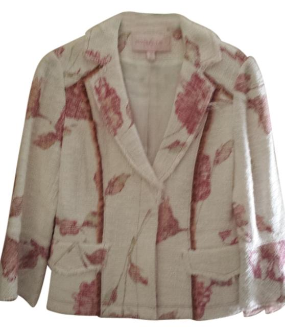 Other Silk Mulberry White and pink Blazer