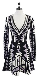 Parker short dress Geo Print Fit & Flare Bandage on Tradesy