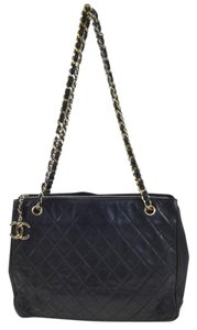 Chanel Tote Quilted Shoulder Bag