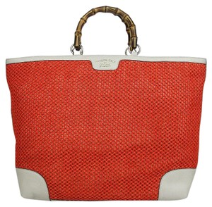 Gucci Shopper Handbag Tote in Orange