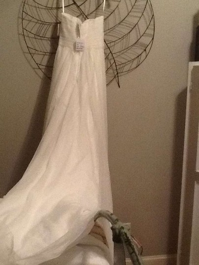 Galina Soft White Wg3438 Feminine Wedding Dress Size 2 (XS)