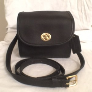 Coach Vintage Leather Travel/weekend Messenger Cross Body Bag