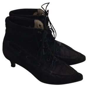 Manola Blanik ankle boots Black suade Boots