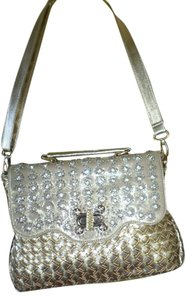 Other Metal Shimmer Shoulder Bag
