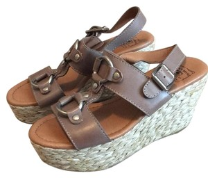 Lucky Brand Pewter Wedges