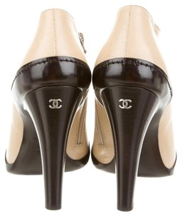Chanel Peep Toe Interlocking Cc Boots