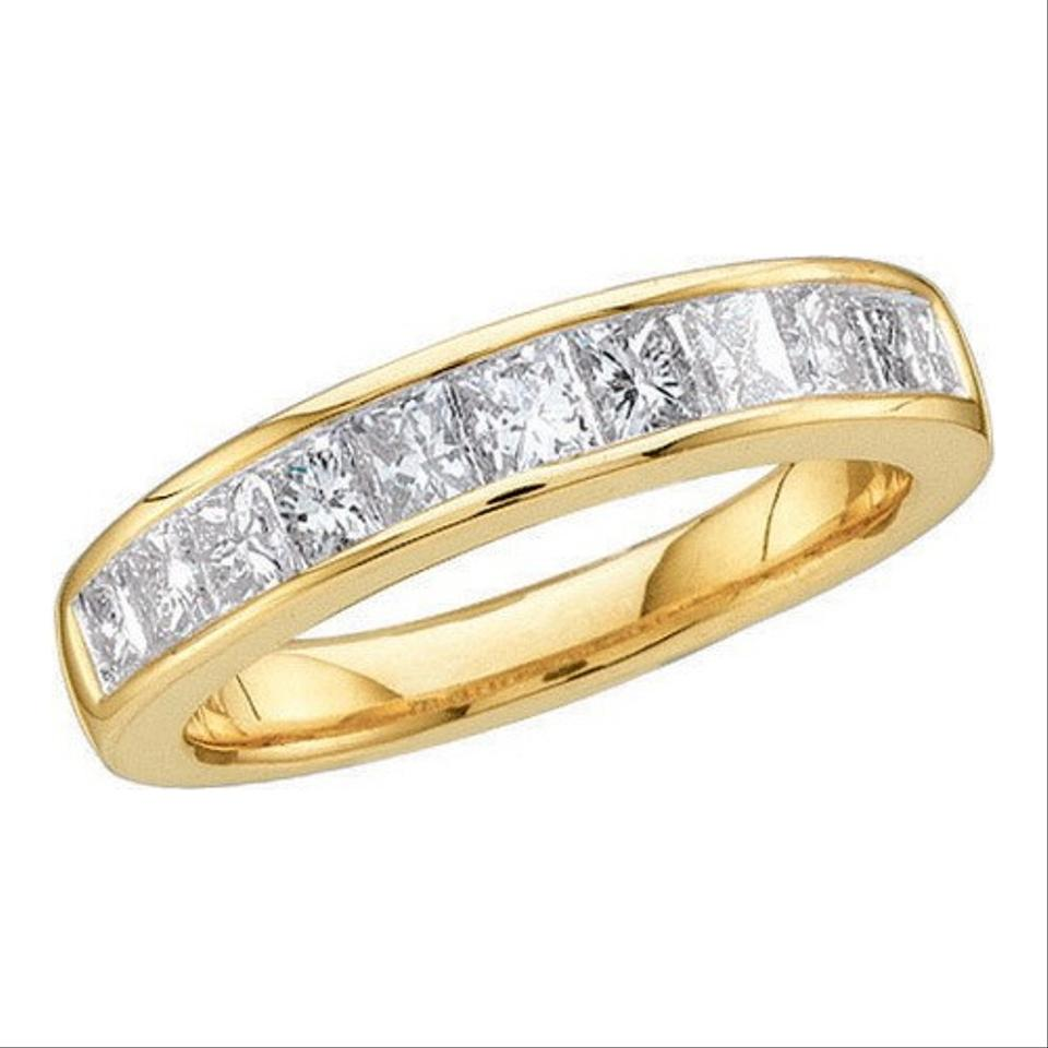Yellow gold diamond luxury designer 14k 50 cttw invisible yellow gold diamond luxury designer 14k 50 cttw invisible anniversary ring womens wedding band tradesy publicscrutiny Images