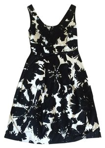Ann Taylor short dress black white on Tradesy