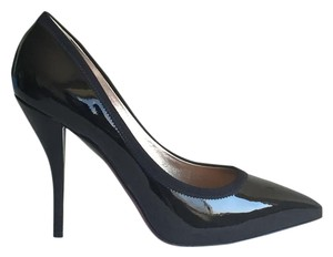 Lanvin Leather black and purple Pumps