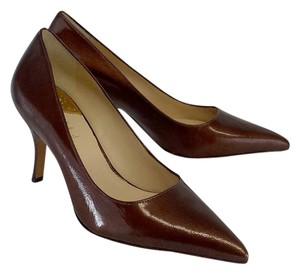 Cole Haan Chocolate Brown Pointed Toe Pumps