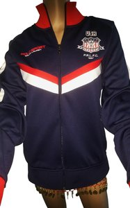 Polo Ralph Lauren Mens Zip Front Size L Track French Navy Jacket