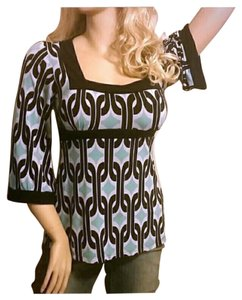INC International Concepts Geometric Aztec Bold Vibrant Tunic