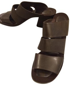 Joan & David Casual Chunky Heel Brown Comfortable Bronze, Brown Wedges