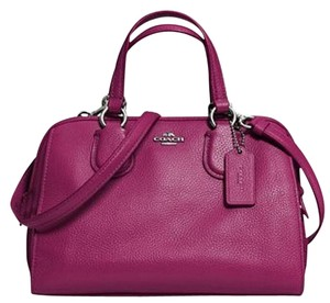 Coach Nolita Demi Blue 33735 Satchel in Magenta