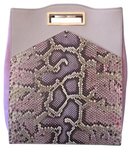 Dee Ocleppo Satchel in Pink And Ivory