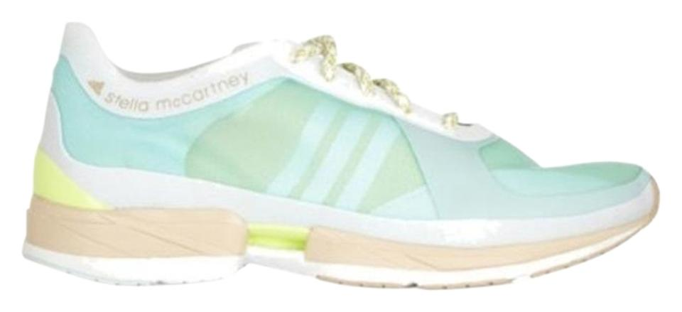 Adidas By Stella Mccartney Green Sprintframe Sneakers Size Us 7
