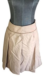 Max Studio Skirt Light brown