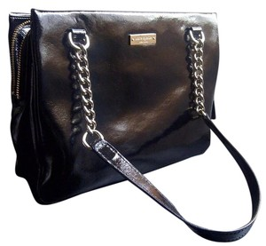 Kate Spade Patent Leather Chain Straps Shoulder Bag