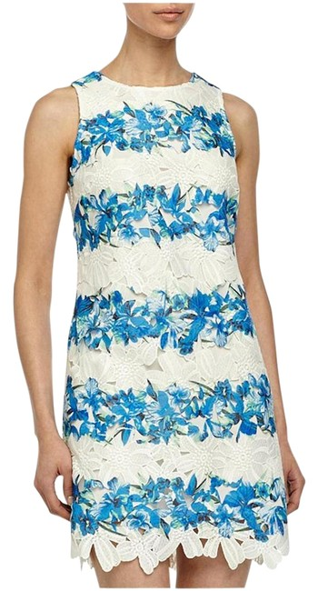 Item - New Floral Lace Sheath Above Knee Short Casual Dress Size 6 (S)