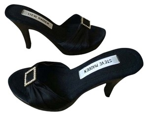 Steve Madden Rhinestone Black Formal