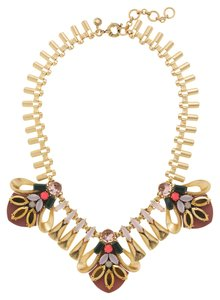 J.Crew Crystal Hive Necklace